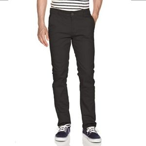 WT02 Mens Long Basic Stretch Skinny Chino Pant